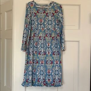 Hanna Andersson dress, size 120, ( 6/7)